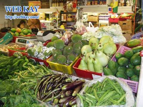ホノルル ハワイ 中華街 野菜
