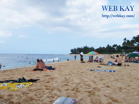 サンセット・ビーチ Sunset Beach Park ノースショア northshore hawaii