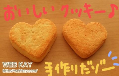 粘土で作ったクッキー