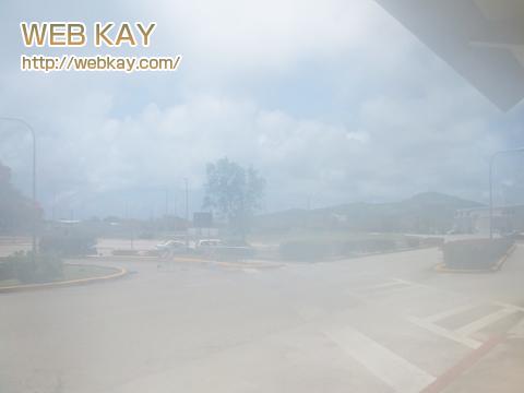 サイパン 空港 到着