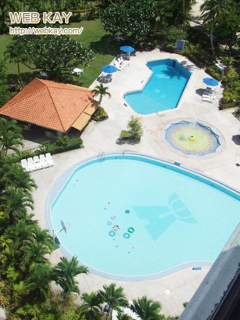 サイパン ハファダイビーチホテル プール