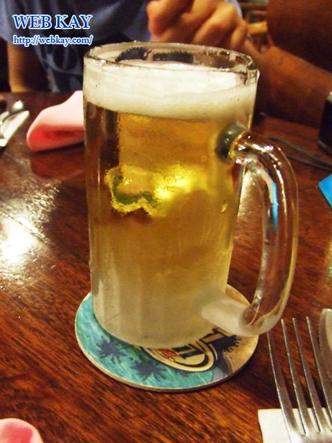 サイパン ステーキレストラン カントリーハウス CONTRYHOUSE RESTAURANT ビール BEER