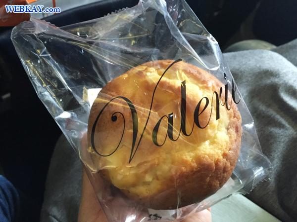 チェジュ航空 Jeju airlines 飛行機頭痛対策で免税店で買って食べたパン
