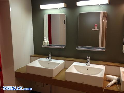 ブルードルフィン 青森 シャワー室