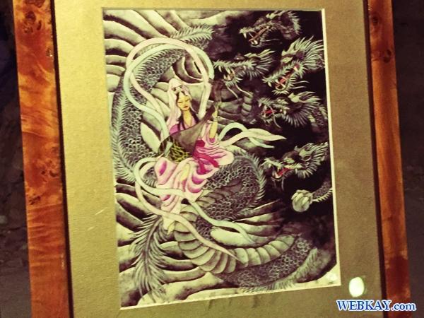 江の島生まれの伝説「天女と五頭龍」