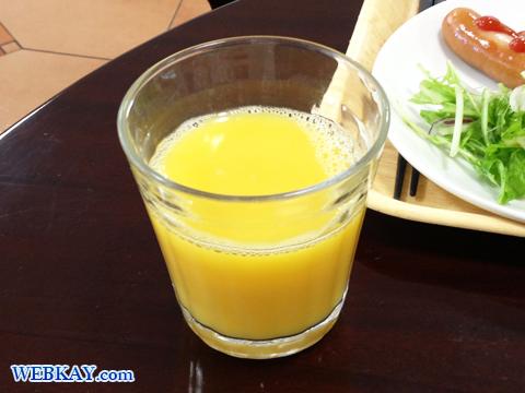 オレンジジュース ホテル「ドーミーイン函館五稜郭」 朝食バイキング 食べログ