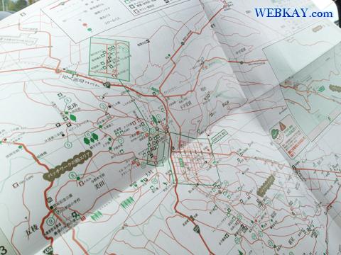 美瑛 丘のくら 道の駅 観光マップ 地図