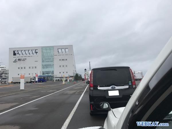 函館フェリーターミナル フェリー大函丸 だいかんまる 函館~大間 ferry daikanmaru ship 船旅