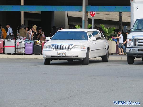 ハワイ ホノルル空港からホテルまでJTB送迎バス レビュー 感想 リムジン