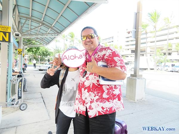 ヘンリー henry ハワイ ホノルル空港からホテルまでJTB送迎バス レビュー 感想