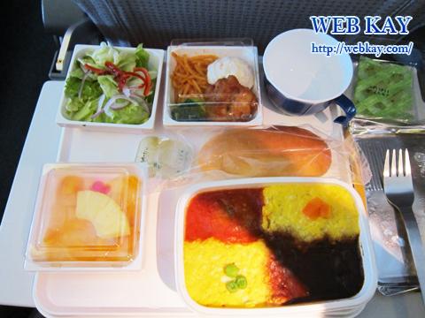 日本航空(JAL)の機内食