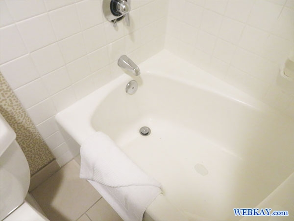 バスルーム Bathroom ワイキキ・ビーチ マリオット・リゾート&スパ Waikiki Beach Marriott Resort & Spa ハワイ ホテル 感想 施設紹介 口コミ hawaii