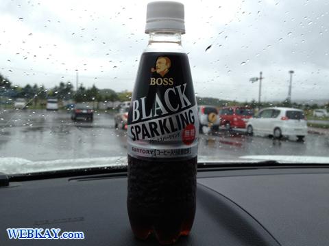 BOSS Black Sparkling 炭酸コーヒー