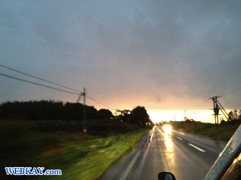 空模様 自然 天国 風景 オホーツク海 国道238号 北海道