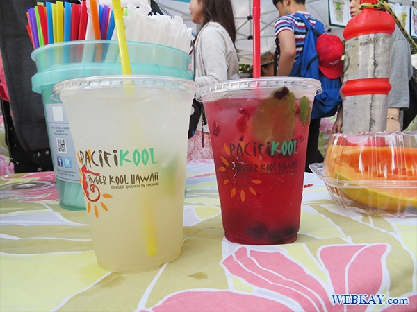 PACIFIKOOL Gingercooler ハワイ KCCファーマーズマーケット hawaii KCC saturday Farmer's Market 朝市