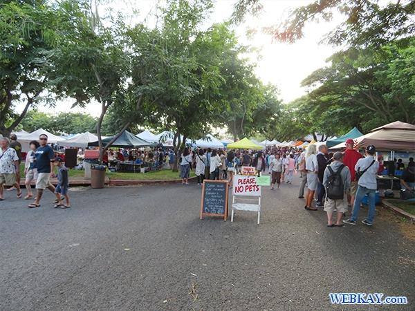 ハワイ KCCファーマーズマーケット hawaii KCC saturday Farmer's Market 朝市