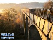 Pontcysyllte Aqueduct(ポントカサルテの水道橋)