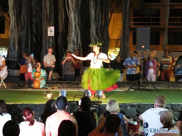 フラダンスショー Huladance Show ハワイ ワイキキビーチ Hawaii Waikiki Beach フラショー