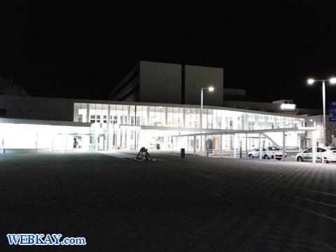 道の駅わっかない JR稚内駅 車中泊 日本最北