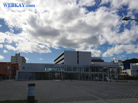道の駅わっかない JR稚内駅 車中泊
