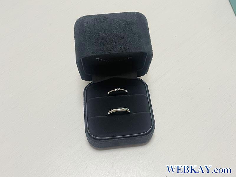 この度、結婚しまして。結婚指輪はTiffany(ティファニー)にしましたログ。