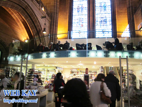 リバプール大聖堂(Liverpool Cathedral) cafe&shop