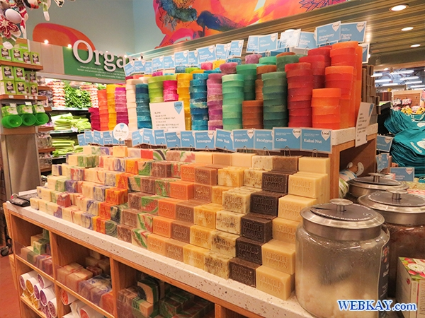 石鹸・ボディーケア類 ホールフーズ hawaii wholefoods ハワイ オアフ島 スーパーマーケット