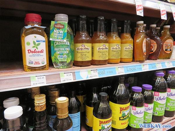シロップ・ハチミツ ホールフーズ hawaii wholefoods ハワイ オアフ島 スーパーマーケット