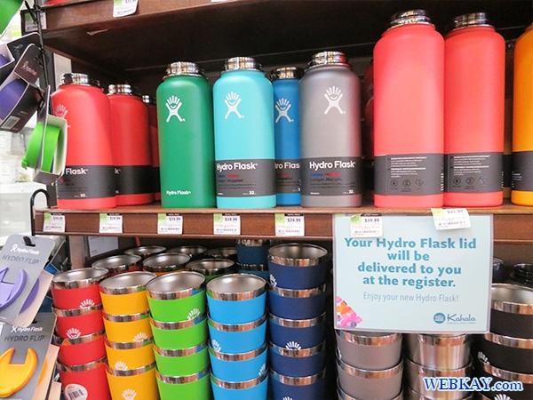 hydro flask ホールフーズ hawaii wholefoods ハワイ オアフ島 スーパーマーケット
