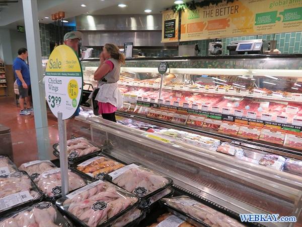 精肉売り場 ホールフーズ hawaii wholefoods ハワイ オアフ島 スーパーマーケット