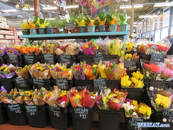 お花 ホールフーズ hawaii wholefoods ハワイ オアフ島 スーパーマーケット