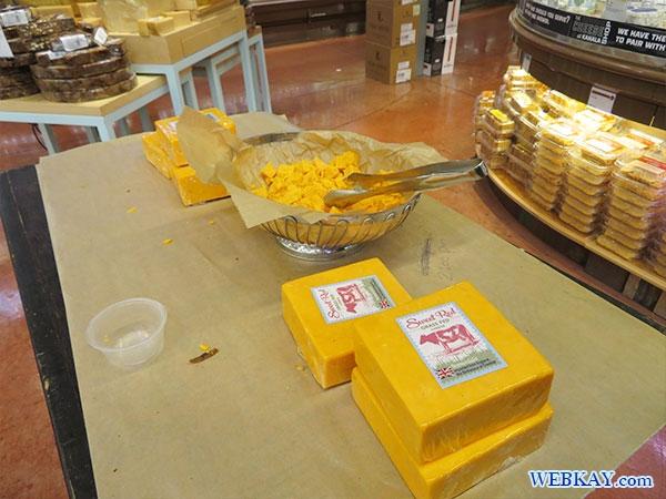 チーズ試食 ホールフーズ hawaii wholefoods ハワイ オアフ島 スーパーマーケット