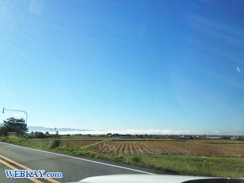 北海道北竜町 空 風景 雲