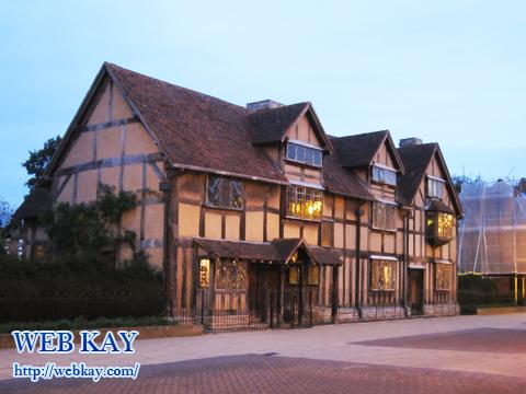 シェイクスピアの生家(Shakespeare's Birthplace)