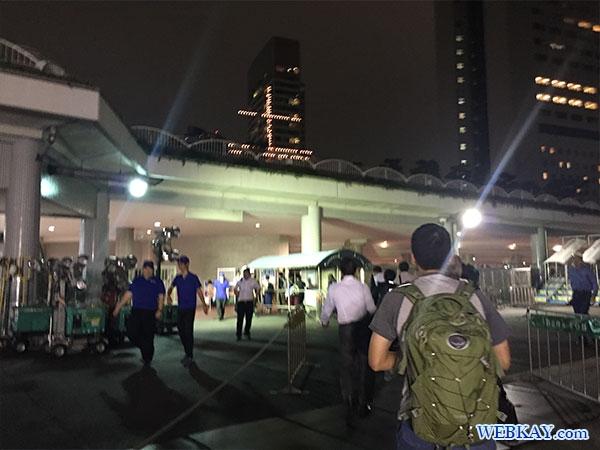 竹芝客船ターミナル takeshiba terminal