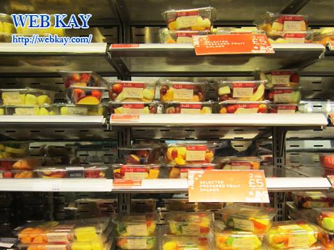 バース(Bath)のスーパーマーケット フルーツ