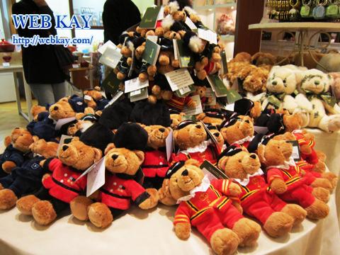 ピカデリーサーカスのロンドン三越にてお買い物