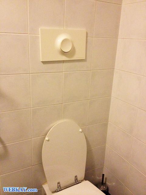 トレッツァーノ・ローザのホテル「PRIMO MAGGIO(プリモ・マッジオ)」 トイレ ビデ