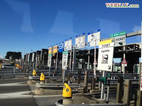 イタリア バス 高速道路 サービスエリア SA