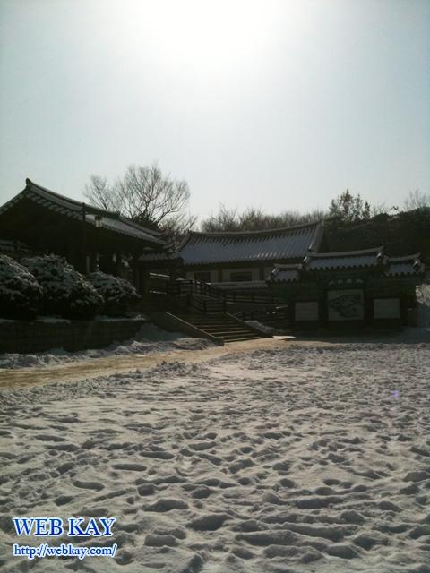 泉雨閣 南山韓屋村 ナムサンゴル ハノクマウル 伝統的 家屋 韓屋