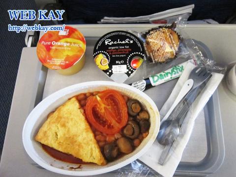 ブリティッシュ・エアウェイズ(British Airways) 機内食