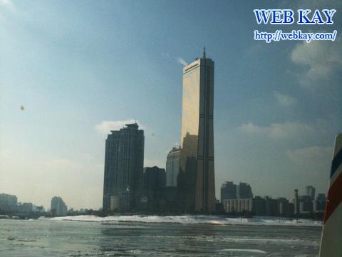 漢江 ハンガン ソウル 遊覧船 観光 ツアー 韓国旅行 63ビルディング
