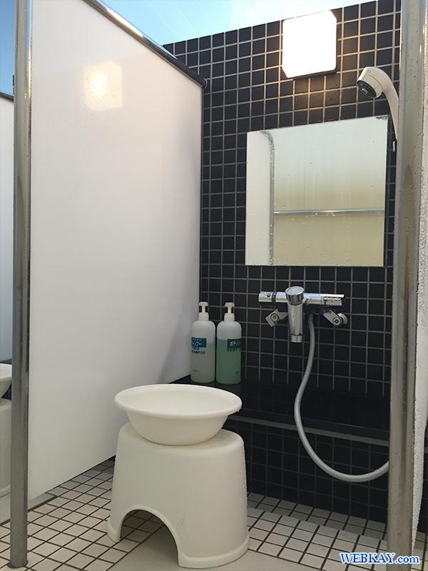風呂 シャワー 船旅 シルバーフェリーで行く北海道 車中泊の旅 2015年