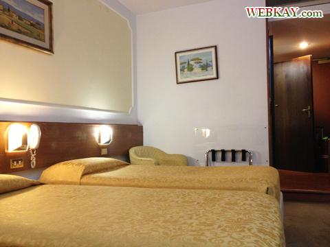 ツインベッド ホテル デルタ フローレンス 情報 Hotel Delta Florence カレンツァーノ(Calenzano) イタリア旅行 口コミ&感想