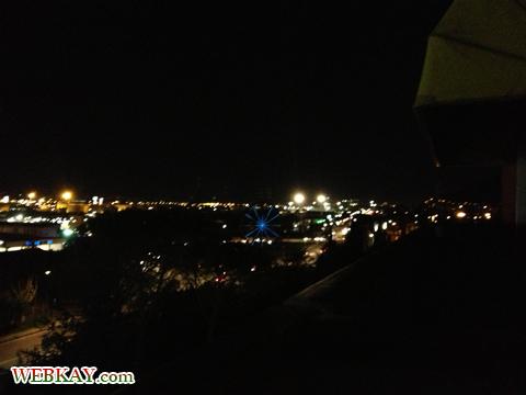 夜景 バルコニー ホテル デルタ フローレンス 情報 Hotel Delta Florence カレンツァーノ(Calenzano) イタリア旅行