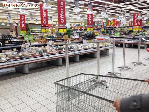 カルフール Carrefour カレンツァーノ(Calenzano) カート イタリア旅行 口コミ&感想