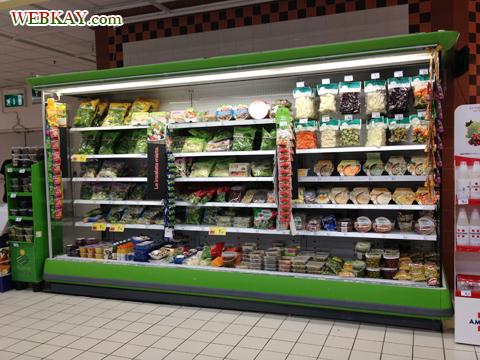 野菜 カルフール Carrefour カレンツァーノ(Calenzano) イタリア旅行 口コミ&感想