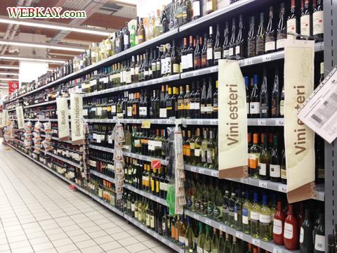 ワイン カルフール Carrefour カレンツァーノ(Calenzano) イタリア旅行 口コミ&感想