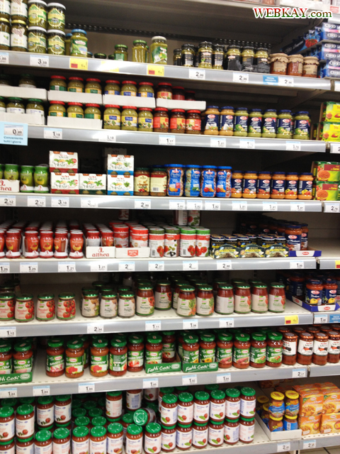 パスタソース トマト カルフール Carrefour カレンツァーノ(Calenzano) イタリア旅行 口コミ&感想
