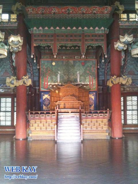 昌徳宮 しょうとくきゅう 世界文化遺産 チャンドックン 창덕궁 Changdeokgung 仁政殿(インジョンジョン)